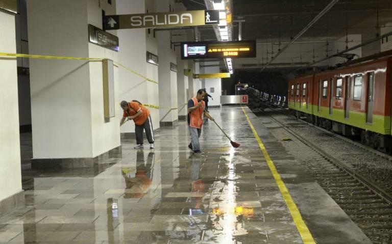 Lo detienen por mostrar sus genitales a una mujer en Metro Zapata