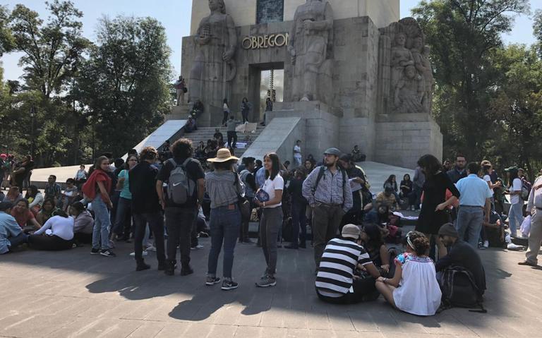 Estudiantes de la UNAM marchan hacia Rectoría; piden justicia por Aideé y Lesvy