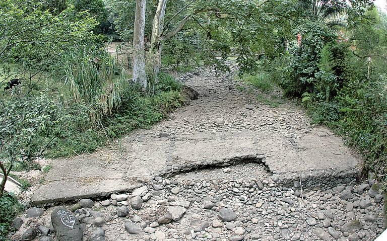 Se secan ríos de la región de Xalapa por falta de lluvias