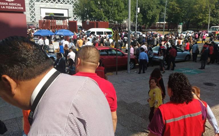 Tras amenaza de bomba, suspenden labores en Palacio de Justicia Federal de San Lázaro