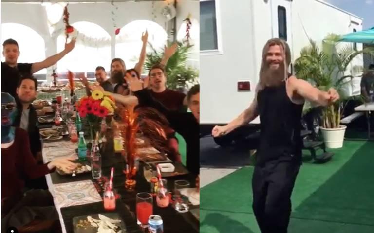 [Video] ¡Con todo y mariachi! Los Avengers disfrutan de un desayuno a la mexicana
