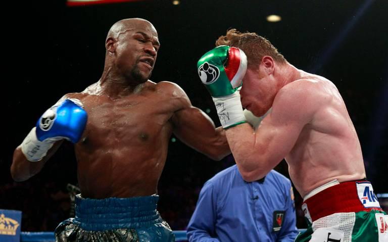 """Ya se habla de otra millonaria pelea entre Floyd y """"Canelo"""""""