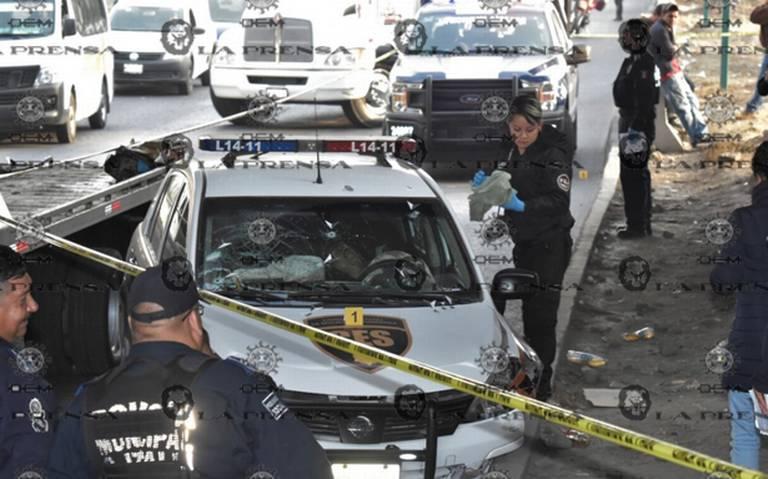 Plomean a custodio durante asalto en la México- Querétaro