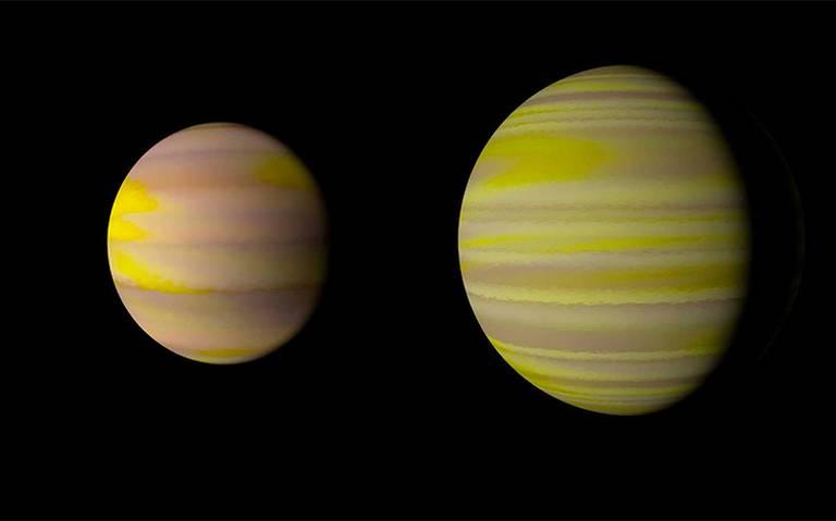 Descubren tres nuevos exoplanetas gaseosos