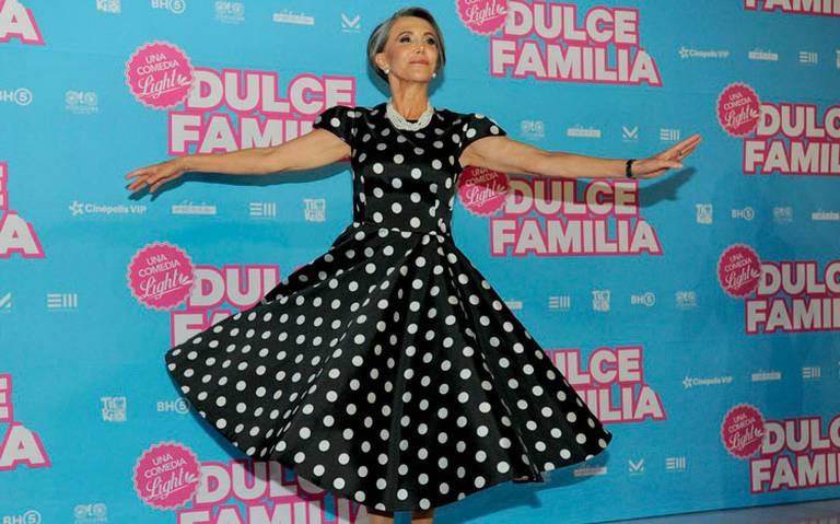 Florinda Meza regresa al cine con Dulce familia