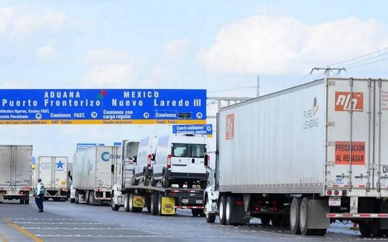 Caos en frontera frena exportaciones