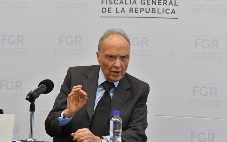 """""""No había control en investigaciones"""", Gertz a 100 días al frente de la FGR"""