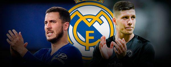Hazard y Jovic, a un paso del Madrid