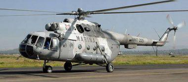 Helicóptero de la Marina se desploma en límites de Querétaro y San Luis Potosí