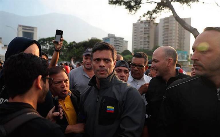 """Leopoldo López es """"huésped"""" en la Embajada española en Venezuela"""