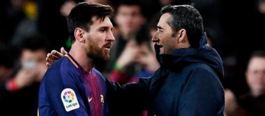 Messi da espaldarazo a Ernesto Valverde