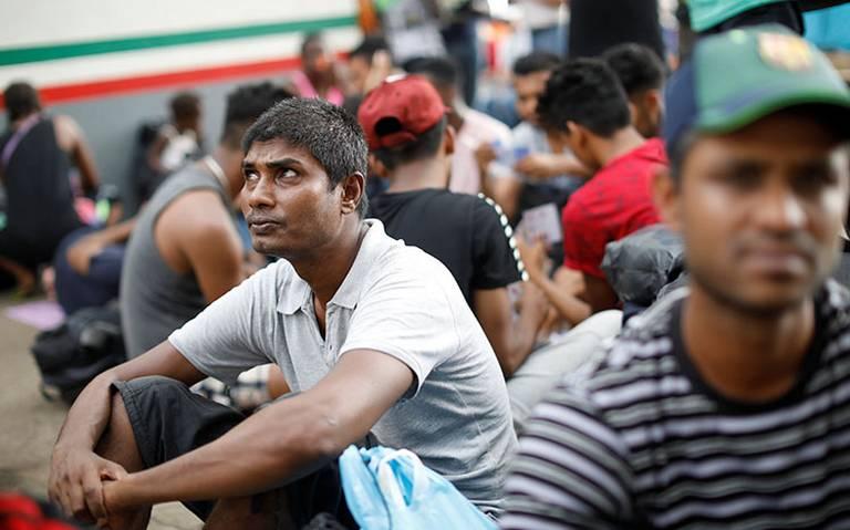 Saturan albergues miles de migrantes en Tamaulipas