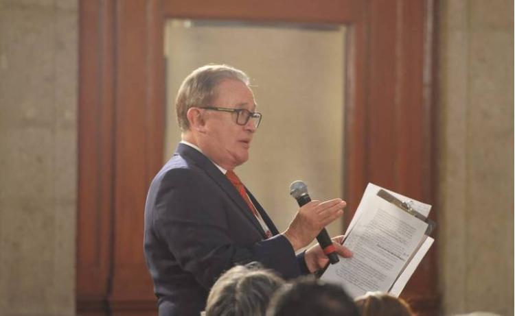 Encara Ricardo Rocha a AMLO por lista de periodistas
