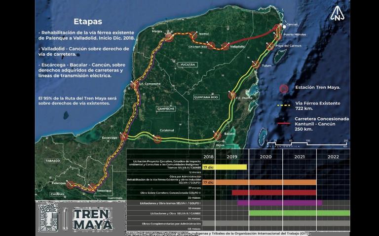 Estudios de impacto ambiental del Tren Maya estarán antes de noviembre