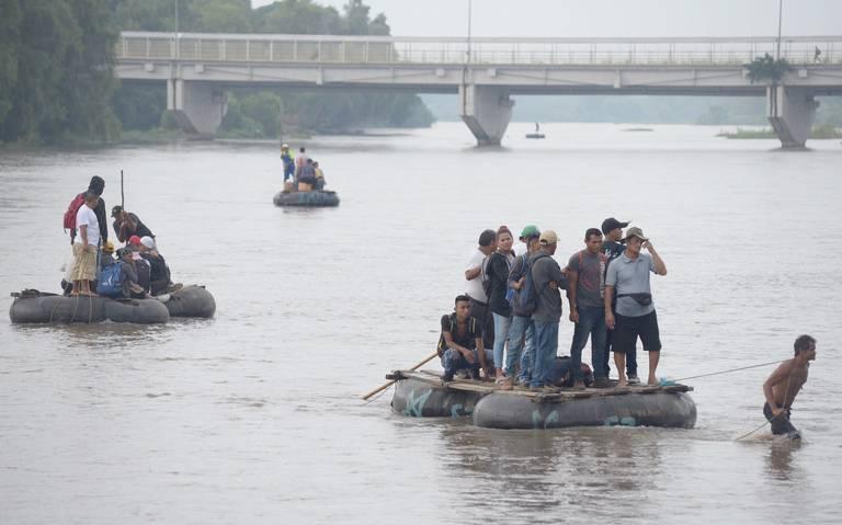 Asume Ebrard el control del plan migratorio