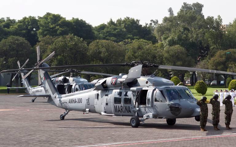 Rematan helicópteros de la Iniciativa Mérida