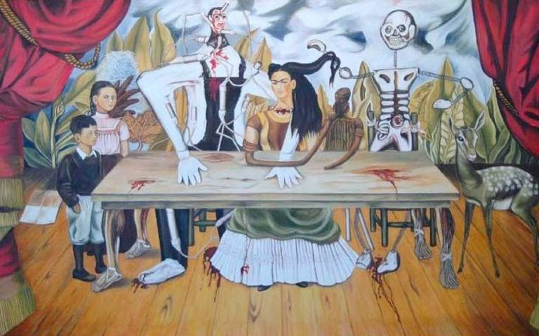 Aparece obra robada de Frida Kahlo valuada en 20 mdd