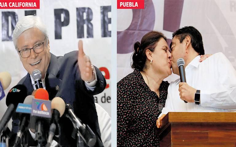 Pierde el PAN bastiones en Puebla y Baja California