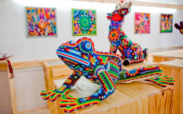 Arte huichol será exhibido en París