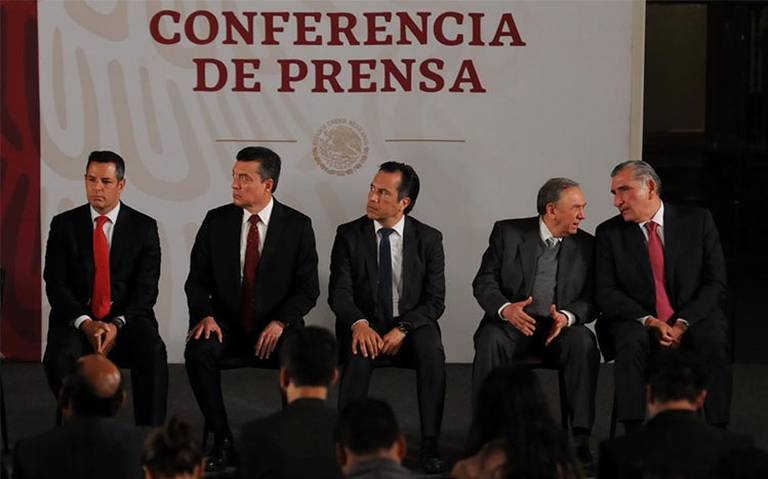 Gobernadores del sur-sureste se suman a proyecto de contener migración en la frontera