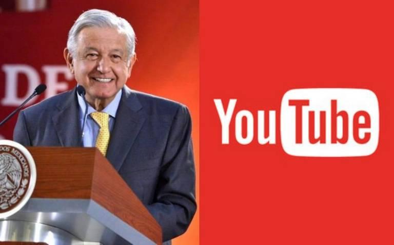 Recibirá AMLO Botón de Oro de Youtube por más de un millón de suscriptores