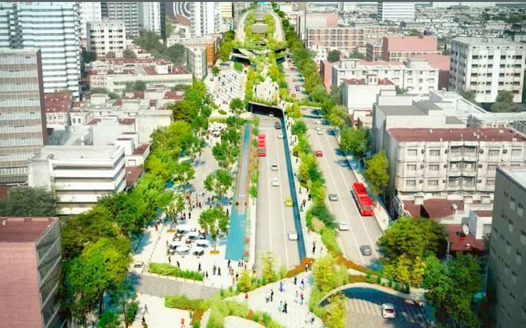 Piden 921 mdp por corredor Chapultepec