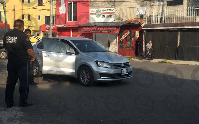 Ejecutado a bordo de su auto en Ecatepec, Estado de México