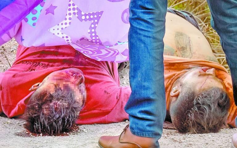 Torturados y con el tiro de gracia son encontrados en Naucalpan