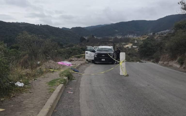 Localizan dos cadáveres en Naucalpan, presentaban impactos de bala