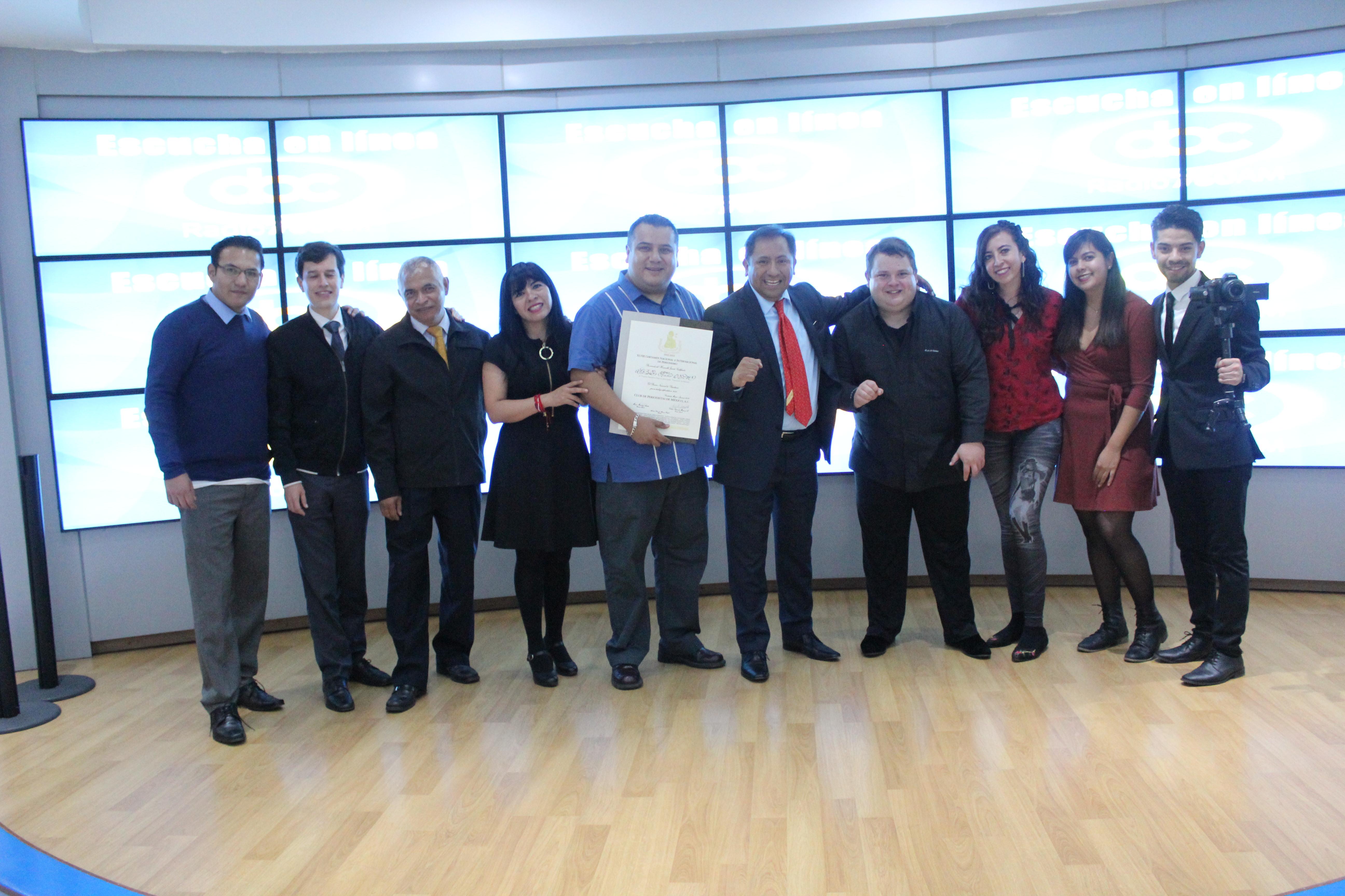 ABC Radio recibe dos reconocimientos en la entrega del Premio Nacional de Periodismo del Club de Periodistas