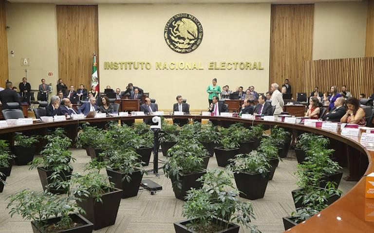 INE llama a votar y respetar resultados electorales