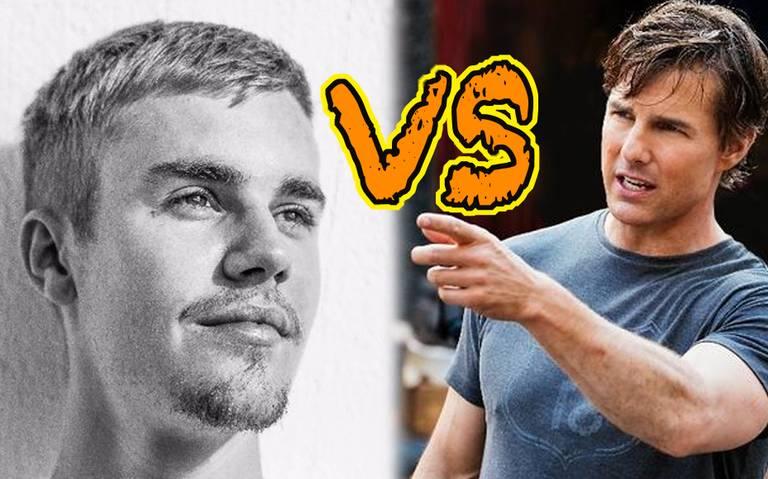 Justin Bieber reta a pelear a Tom Cruise ¡hagan sus apuestas!