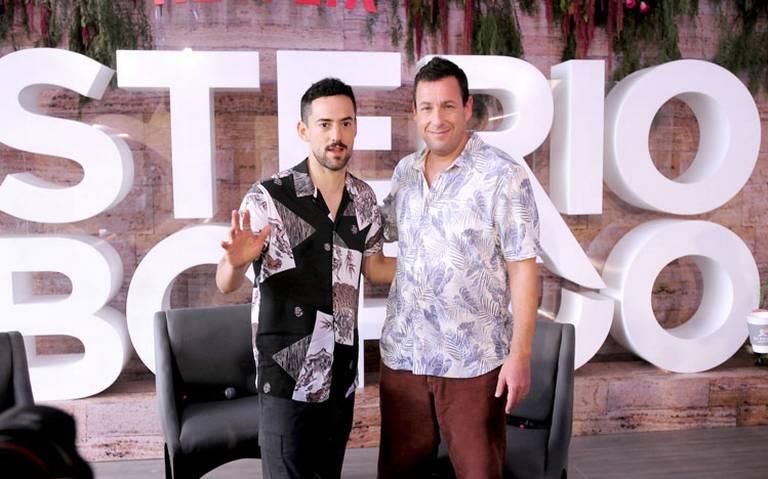 Luis Gerardo Méndez y Adam Sandler, cómplices en el cine