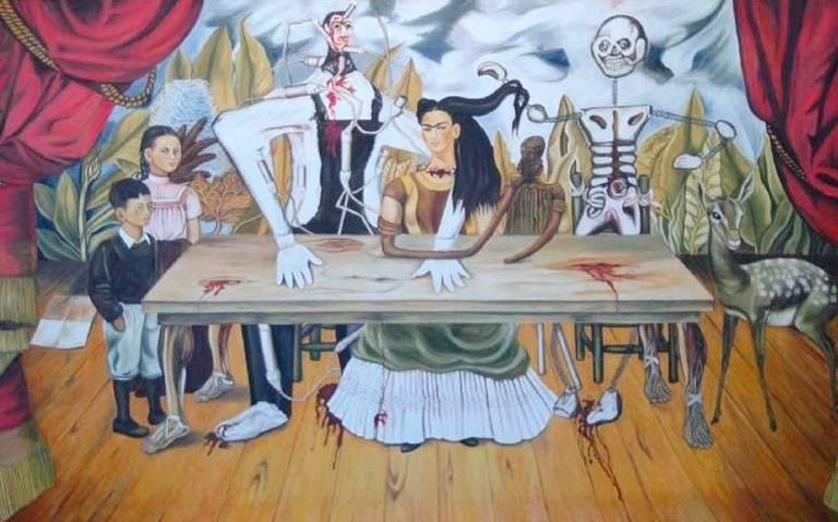Pide Fiscalía informes sobre la obra La mesa herida de Kahlo