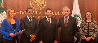En secreto, Senado aprueba en comisiones el T-MEC