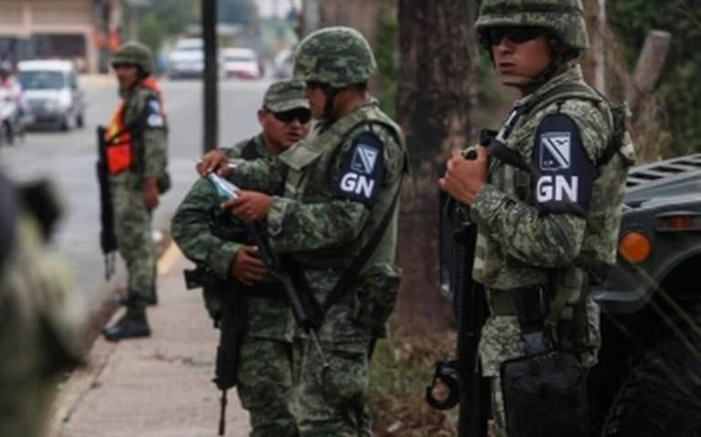 Guardia Nacional se hace presente en la frontera sur