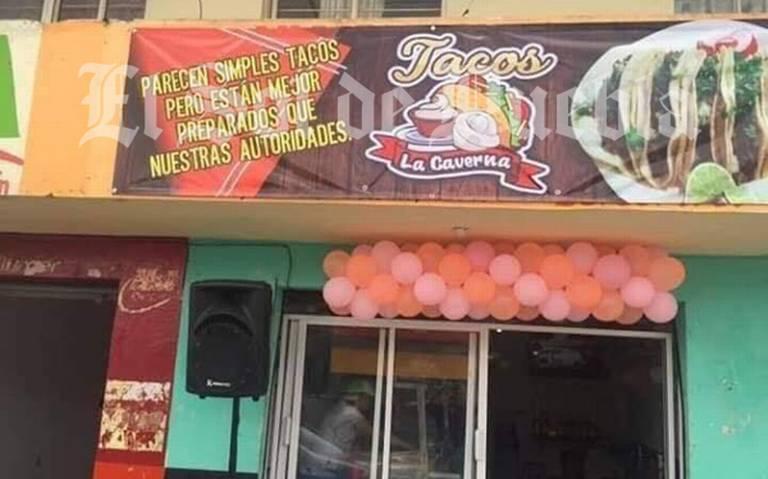 "Tacos ""mejor preparados que autoridades"" ofende a burocracia poblana"