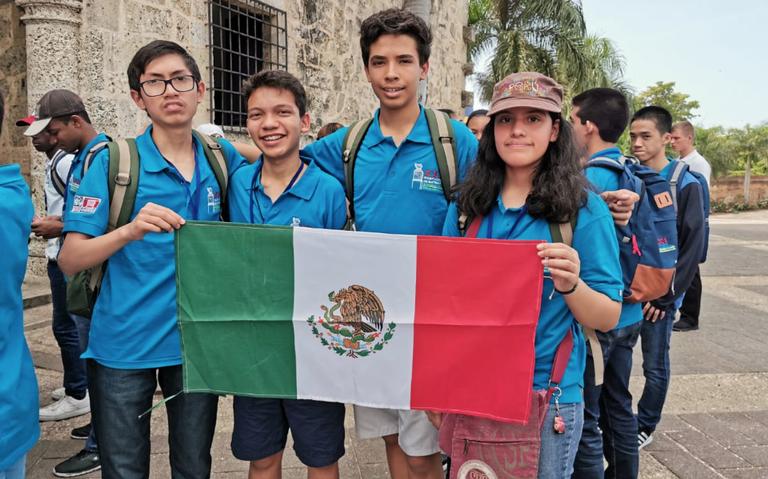 Niños mexicanos se coronan campeones de Olimpiada Matemática