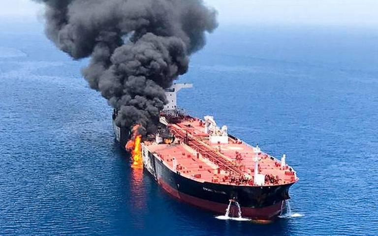 Pompeo acusa a Irán de atacar buques petroleros en el mar de Omán