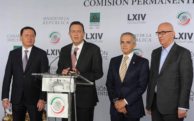 Oposición en Senado rechaza revocación de mandato en marzo de 2021