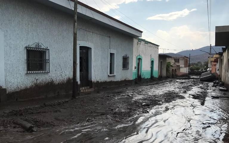 Más de 3 mil afectados y mil casas dañadas deja desbordamiento de río en San Gabriel, Jalisco