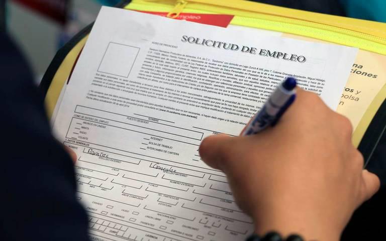 Baja 88% la creación de empleos formales