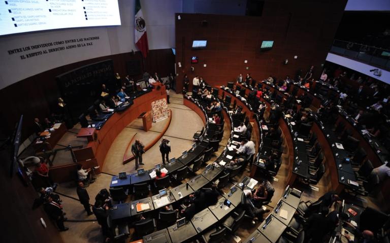 Por desacuerdos, Senado convoca receso; reanudan el 1 de julio