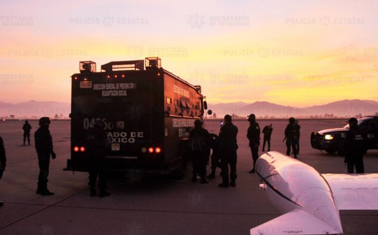 Trasladan a dos líderes de La Unión Tepito a penal en Guanajuato