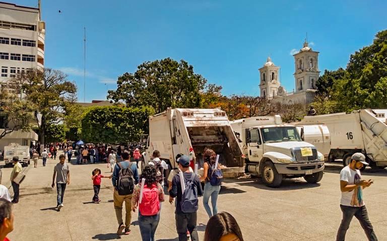 Sindicalizados paralizan Chilpo