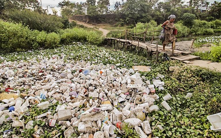 Amenaza plástica