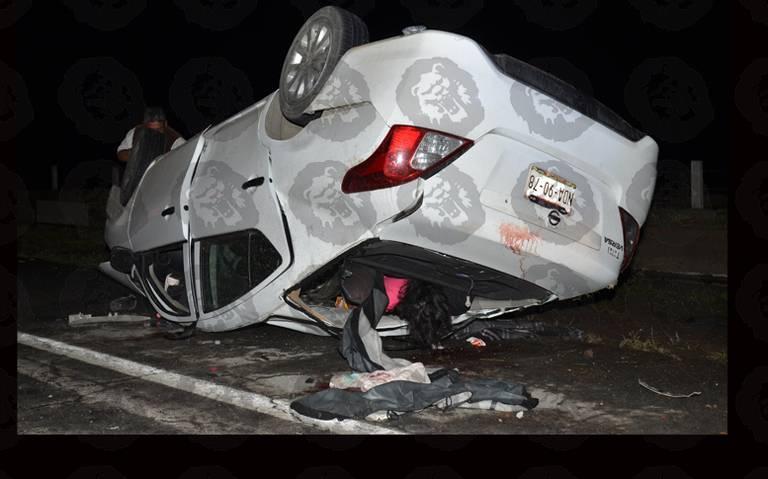 Mujer murió en trágico accidente en el Circuito Mexiquense