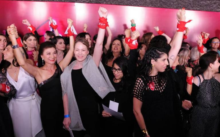 Actrices exigen erradicar la violencia de género en el cine