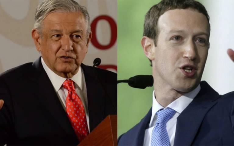AMLO se asociaría con Mark Zuckerberg para crear empresa de telecomunicaciones