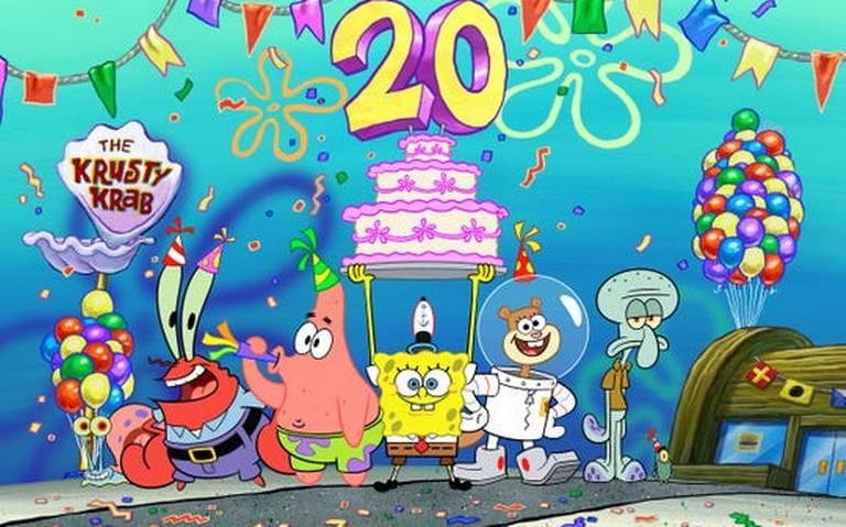 Celebrarán el 20 aniversario de Bob Esponga en la Comic Con 2019